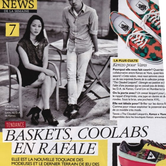 Baskets, coolabs en rafale