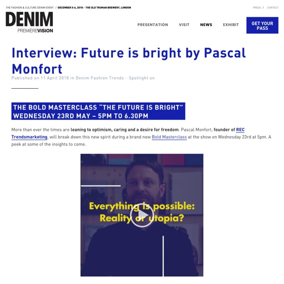 Interview: Future is Bright by Pascal Monfort