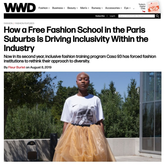 How a Free Fashion School in the Paris Suburbs Is Driving Inclusivity Within the Industry