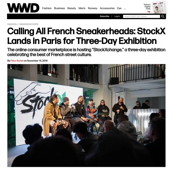 Calling All French Sneakerheads: StockX Lands in Paris for Three-Day Exhibition
